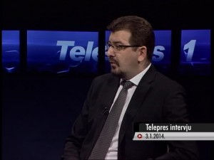 Igor Jovanić u Telepresu - 03_01_2014